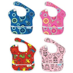 Bumkins Waterproof Easy Wipe SuperBib (6-24 Months)