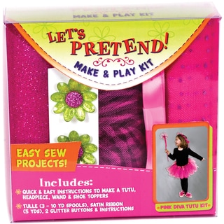 Let's Pretend Tutu Kit-Pink