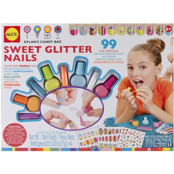 Sweet Glitter Nail Kit