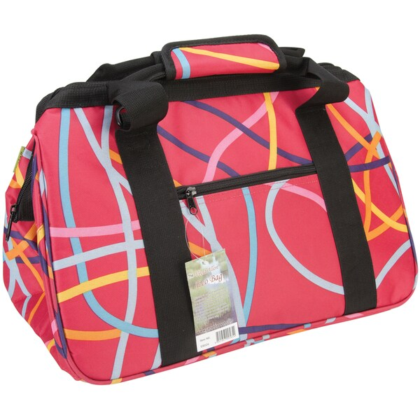 "JanetBasket Ribbons Eco Bag-18""X10""X12"""