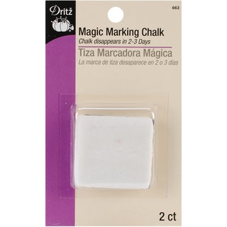 Magic Marking Chalk-White 2/Pkg