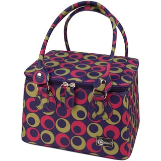 "Creative Options Crafter's Tapered Tote 9.25""X7.25""X6""-Magenta/Green/Purple"