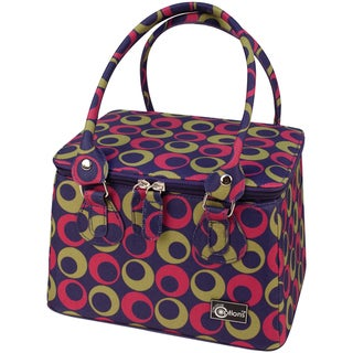"""Creative Options Crafter's Tapered Tote 9.25""""X7.25""""X6""""-Magenta/Green/Purple"""