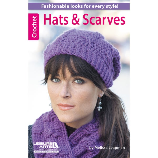 Leisure Arts-Hats and Scarves