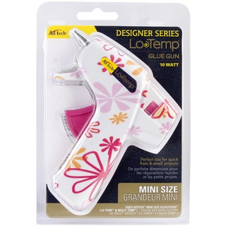 Designer Mini Glue Gun-Low Temp Daisy Print
