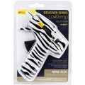 Designer Mini Glue Gun-Low Temp Zebra
