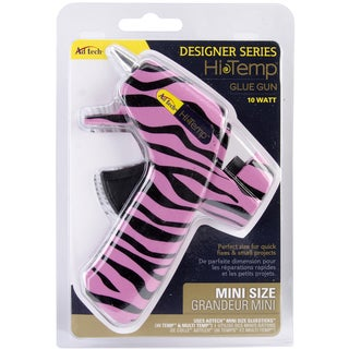 Designer Mini Glue Gun-High Temp Zebra