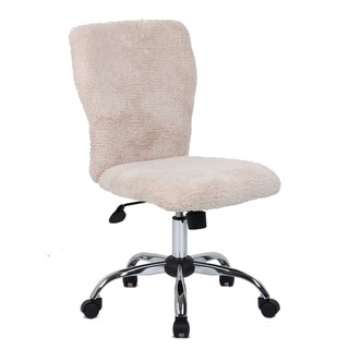 Boss Tiffany Sherpa Faux Fur Chair