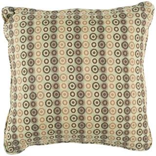 Beautiful Lucile Green Geometric Indoor/Outdoor Decorative Pillow