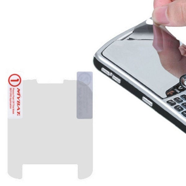 INSTEN Mirror LCD Screen Protector for Blackberry Curve 8520/ 8530