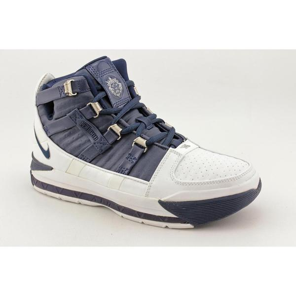 Nike Boy Youth 'Air Lebron III (GS)' Leather Athletic Shoe