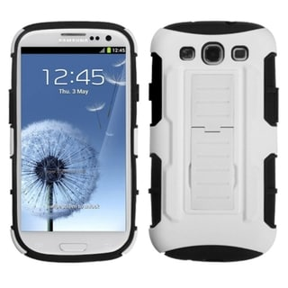 BasAcc Car Armor Stand Case for Samsung Galaxy S3/ S III i9300