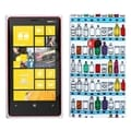 BasAcc Wine Cabinet/ White Candy Skin Case for Nokia 920 Lumia