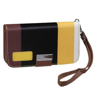 BasAcc Yellow/ Black/ Brown MyJacket Wallet for Apple iPhone 4/ 4S