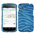 BasAcc Blue/ Baby Blue/ Yellow Diamante Case for LG E960 Nexus 4