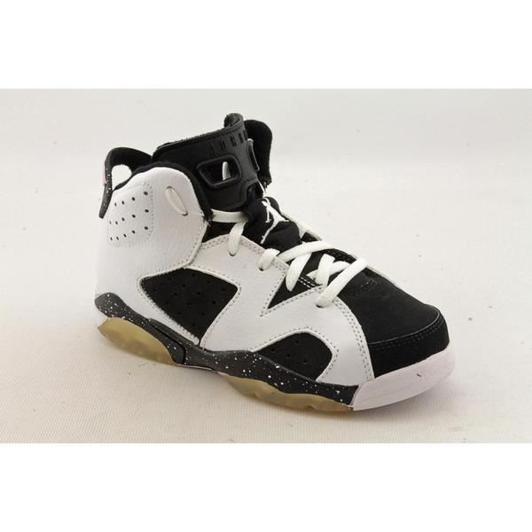 Jordan Boy Youth 'Air Jordan 6 Retro' Synthetic Athletic Shoe (Size 13 )
