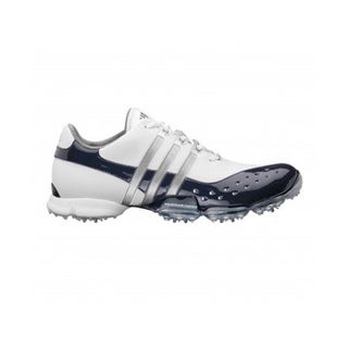 Adidas Men's Powerband 3.0 Golf Shoes White/Navy/Silver