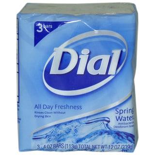 Dial Spring Water Antibacterial Deodorant Soap (Pack of 3)