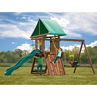Swing-N-Slide Jupiter Redwood Play Set