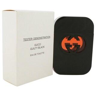 Gucci Guilty Black Women's 2.5-ounce Eau de Toilette Spray (Tester) (Unboxed)