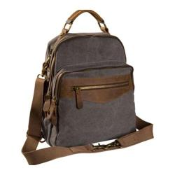 Women's Laurex Convertible Design Backpack Gray