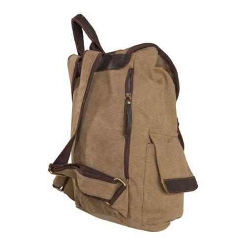 Women's Laurex Vintage Design Backpack 3306 Khaki