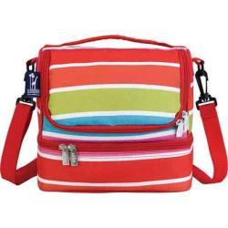 Wildkin Bright Stripes Double Decker Lunch Bag