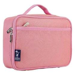 Girls' Wildkin Lunch Box Rip Stop Pink