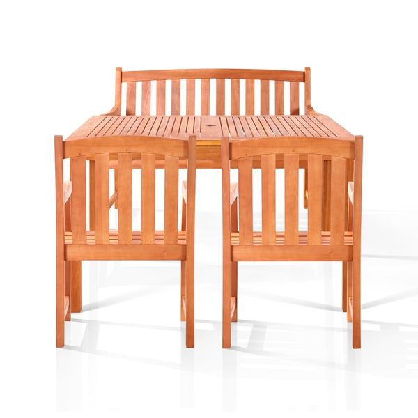 Alameda Bench Seat Dining Set