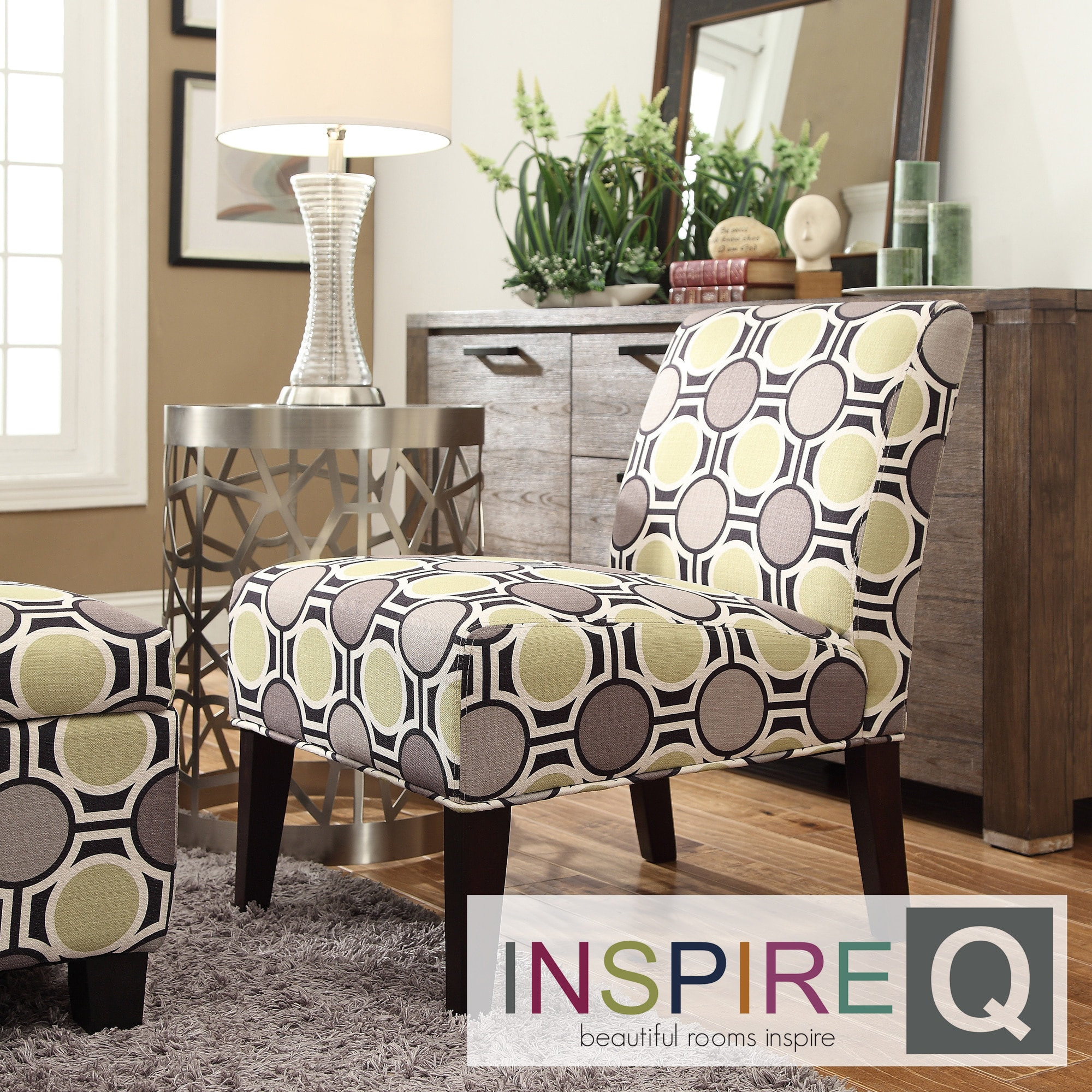 INSPIRE Q Peterson Mod Circles Slipper Chair