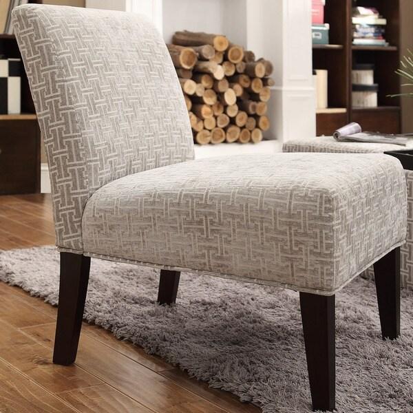 INSPIRE Q Peterson Grey Link Slipper Chair