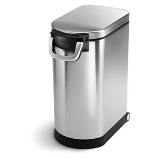 simplehuman Brushed Stainless Steel 30-liter/8-gallon Pet Food Storage Can