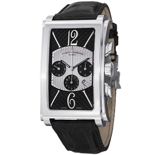 Cuervo Y Sobrinos Men's 1014.1NA LBK1 'Prominente Gran Premio' Chronograph Watch