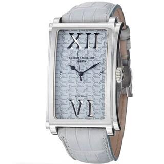 Cuervo Y Sobrinos Men's 1011.1GRO LBU 'Prominente' Blue Dial Light Blue Strap Watch
