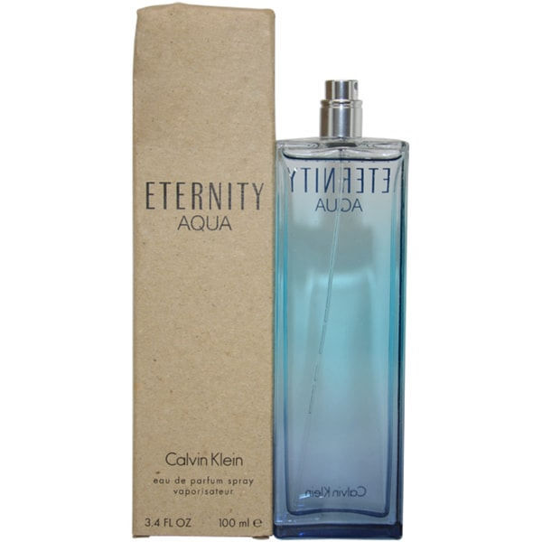 Calvin Klein 'Eternity Aqua' Women's 3.4-ounce Eau de Parfum Spray (Tester)
