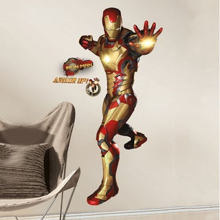 Iron Man 3 Peel and Stick Giant Wall Decals