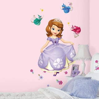 Sofia the First Peel and Stick Giant Wall Decals
