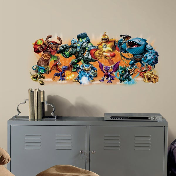 Skylander Giants Burst Peel and Stick Wall Decal 11336361