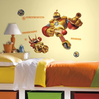 Skylanders Giants Bouncer and Trigger Happy Peel and Stick Giant Wall Decals