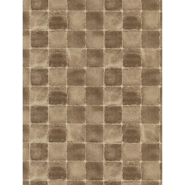 Brass Tile Wallpaper