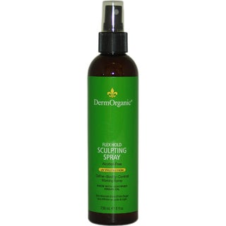 DermOrganic Flex Hold 8-ounce Sculpting Spray with Argan Oil