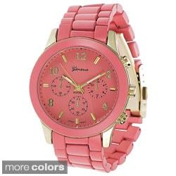 Geneva Platinum Women's Chrono-style Watch