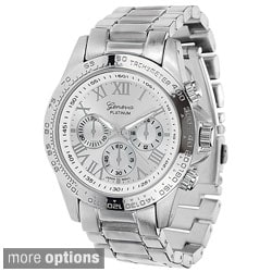 Geneva Platinum Women's Link Watch
