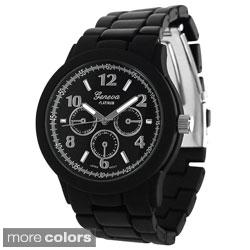 Geneva Platinum Neon Pop Link Watch