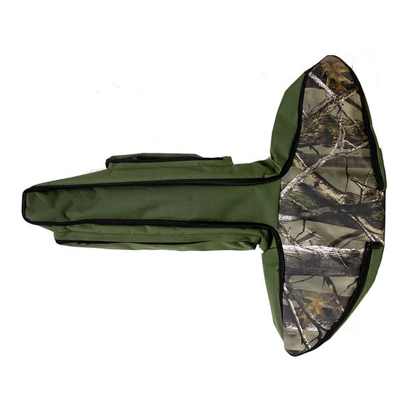 Wizard Camo/ Green Padded Crossbow Case/ Sling