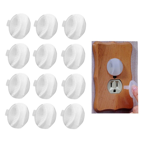 Kidco Electrical Outlet Caps (Pack of 12)