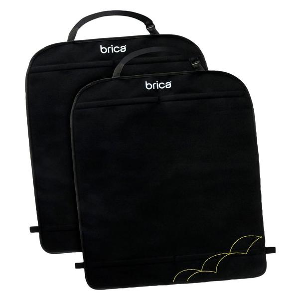 Brica Black Kick Mats Deluxe (Pack of 2)