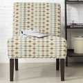 INSPIRE Q Peterson Diamond Impressions Slipper Chair