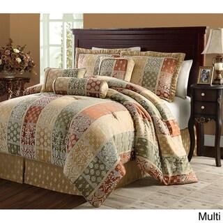 Firenze 7-piece Jacquard Comforter Set