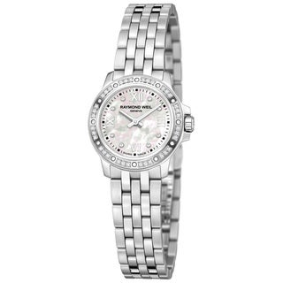 Raymond Weil Women's 'Tango' Mother of Pearl Diamond-accented Dial Watch